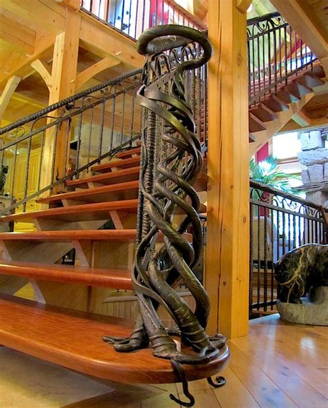 blacksmith three artistic trees art panels by blacksmith iron railings railing design and blacksmithing on pinterest
