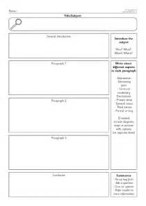 template for information report non chrolological information report writing resources and