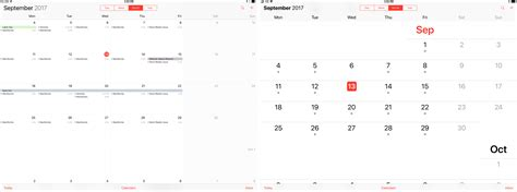 calendar layout ios ios 11 the macstories review macstories page 3