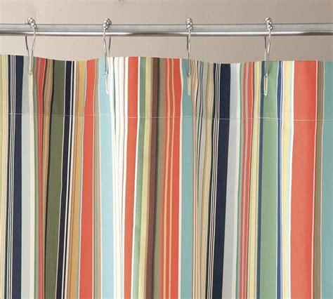 red striped shower curtain striped shower curtain trendy x inch striped shower