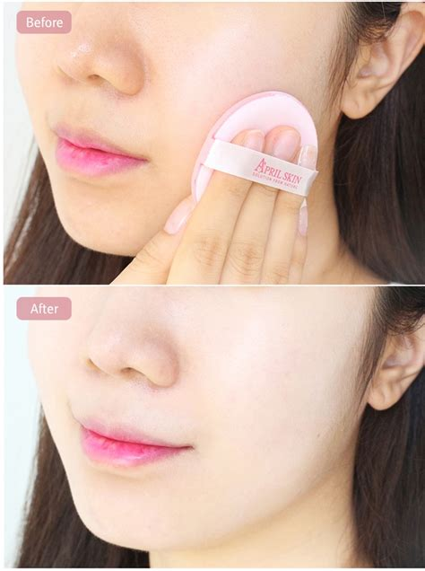 April Skin Pink Magic Snow Cushion Powder April Skin Bb Chusion april skin magic snow cushion cc pink spf50 pa 2016