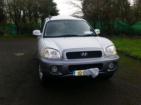 2002 hyundai santa fe parts hyundai santa fe 2 litre petrol 2002 for parts for sale in