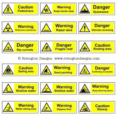 Warning Signs After Section by Warning Signs Cliparts Co