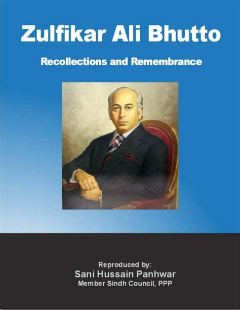 biography book of benazir bhutto zulfikar ali bhutto recollections and remembrances