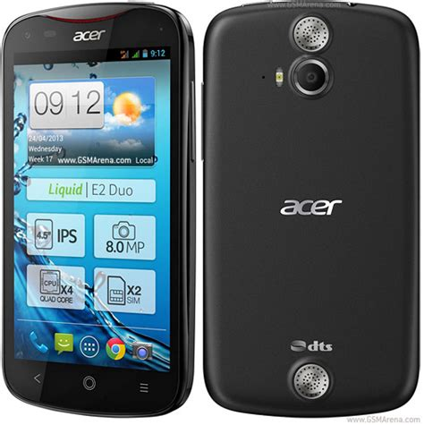 Hp Acer Liquid Gallant S500 acer liquid e2 pictures official photos