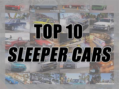 Best Sleepers Cars by Top 10 Sleeper Cars