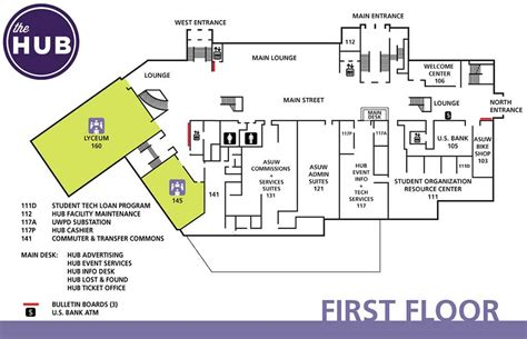 picdun 2 floor 1 map hub floor plans the hub