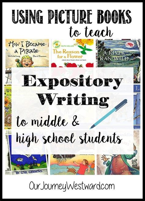 using picture books to teach writing using picture books to teach expository writing to middle