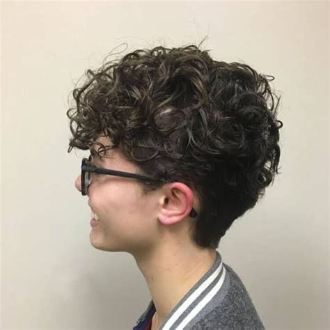 Pomp Hairstyle by Curly Pomp Hairstyle Curly Hair Curly