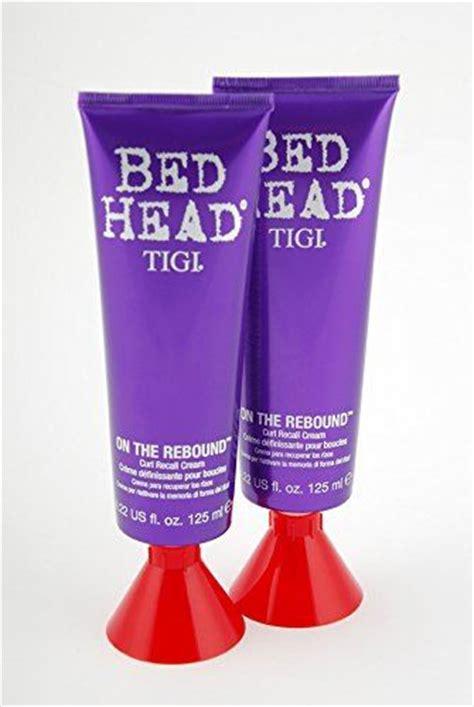 bed head on the rebound tigi bed head on the rebound curl recall cream 125ml 2