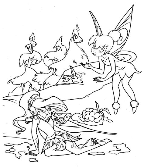 Free Printable Tinkerbell Coloring Pages For Kids Free Tinkerbell Coloring Pages