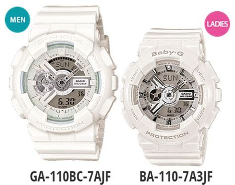 Jam Tangan Hello Set white g shock and baby g suitable for your partner s present g shock pair models