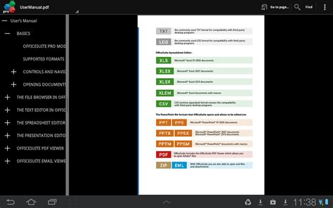 office suite pro android tablet evernote app