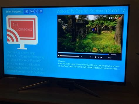 stream video  iphone  ipad  samsung smart tv