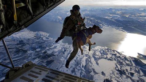 dog soldier landscape lake mountain airplane