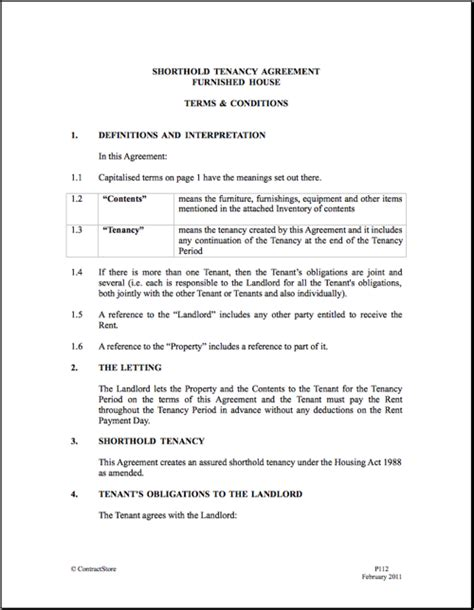 tax agreement template printable sle rental agreement doc form real estate