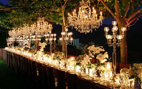 Chandeliers For Outdoors chandeliers and outdoor weddings the magazine