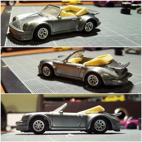 custom porsche wheels porsche 934rsr to 911cab custom hotwheels diecast cars