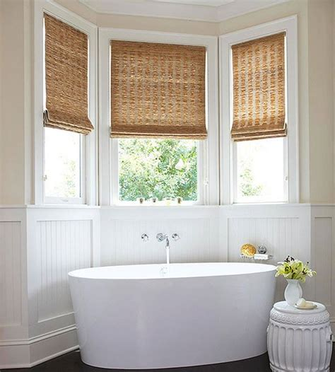 window coverings for bathroom privacy 20 designs for bathroom window treatment home design lover