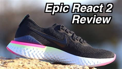 nike epic react flyknit  review epic react  comparsion