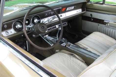 plymouth barracuda interior perfectly preserved all original 1968 plymouth barracuda s