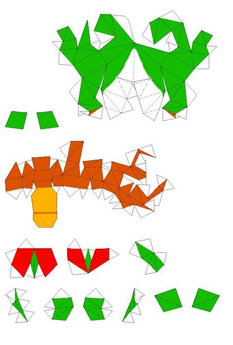 Yoshi Papercraft - yoshi papercraft page 4 by nin mario64 on deviantart