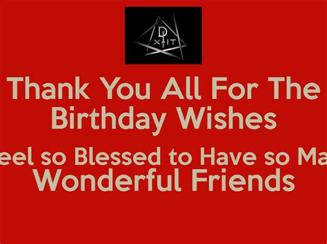 Thank You Birthday Quotes All Thank You Birthday Quotes Quotesgram