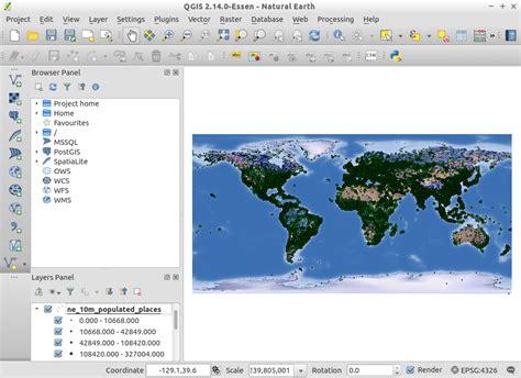 qgis tutorial database osgeo live presentation