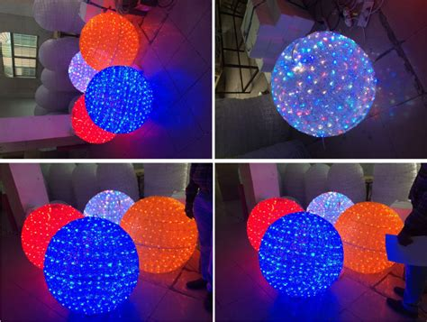 large lighted christmas balls christmas light balls outdoors your best alternative for