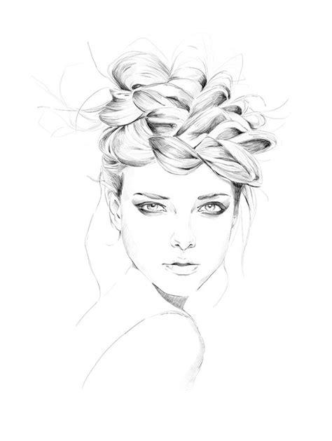 fashion illustration hair fashion croquis hair www pixshark images galleries