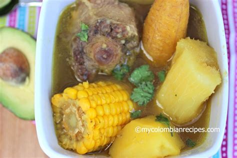 Recipes With Root Vegetables - sancocho de cola oxtail colombian soup my colombian recipes