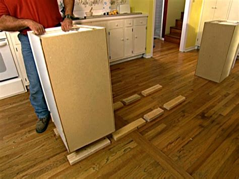how to level kitchen cabinets how to build an upscale kitchen island how tos diy