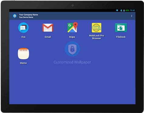 android kiosk mode mobile application management mobilock pro