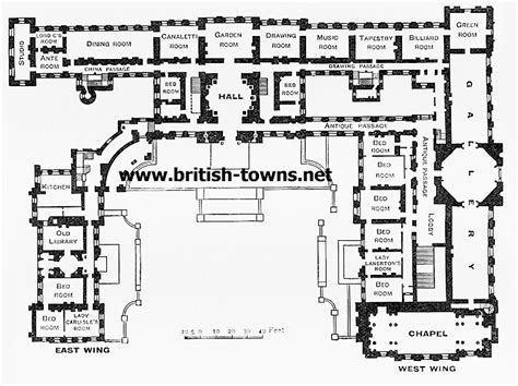Castle Howard Floor Plan | castle howard ground plan of castle howard