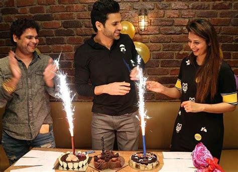 vivek dahiya with his wife divyanka tripathi celebrates vivek dahiya s birthday