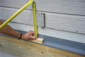 a deck decks how to build a deck attaching the ledger board