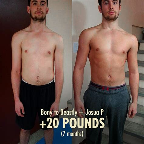 best ectomorph transformation bony to beastly the building program for guys