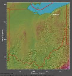 Topographical Map Of Ohio by Climatology For Cleveland Ohio Meteorology 410