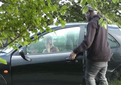 Gets Into Another Car by Pranksters Themselves Getting In To Strangers Cars In