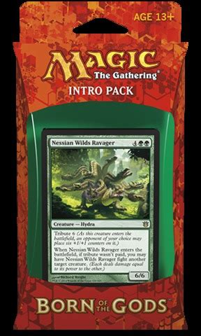 Intro Pack Born Of The Gods born of the gods intro pack insatiable hunger magic products 187 intro starter theme decks