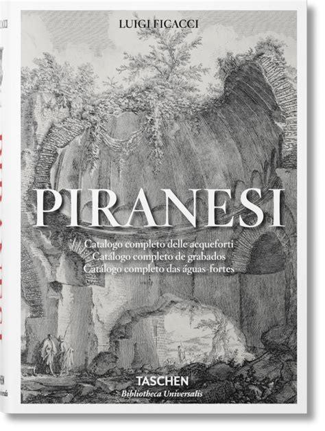libro impressionist art bibliotheca universalis piranesi the complete etchings bibliotheca universalis libros taschen