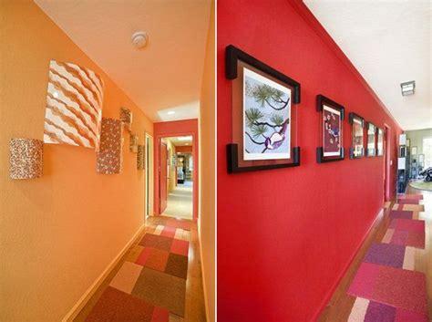 Escalier Blanc Et Bois 5201 by D 233 Co Entr 233 E Maison Cage D Escalier Et Couloir En 32 Id 233 Es