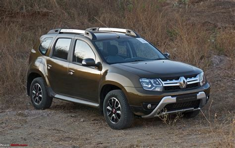 renault duster 2016 team bhp 2016 renault duster facelift amt automatic