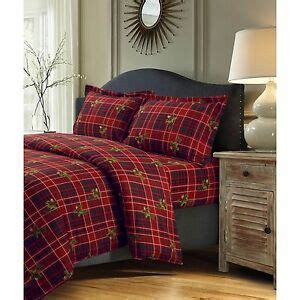 queen flannel duvet cover cabin and lodge bedding set flannel duvet cover king winter bedroom d 233 cor ebay