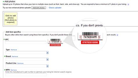 ebay number listing faq
