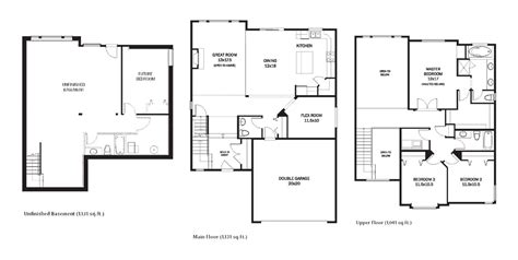 Portrait Homes Floor Plans | hstead maple ridge portrait homes