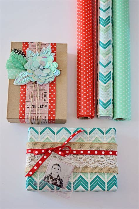 Wrapping Paper Crafts - crafts with wrapping paper