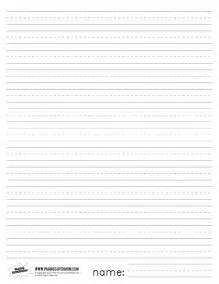 First Writing Paper Best Photos Of Lined Paper For First Grade Primary Grade