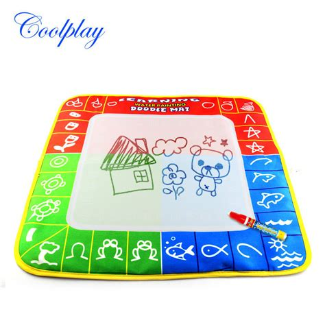 Doodle Mat With Pen aliexpress buy free shipping cp1326nc 49x48cm magic