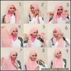 tutorial hijab wisuda trend 2015 glamourous hijab fashion with every day style tutorial